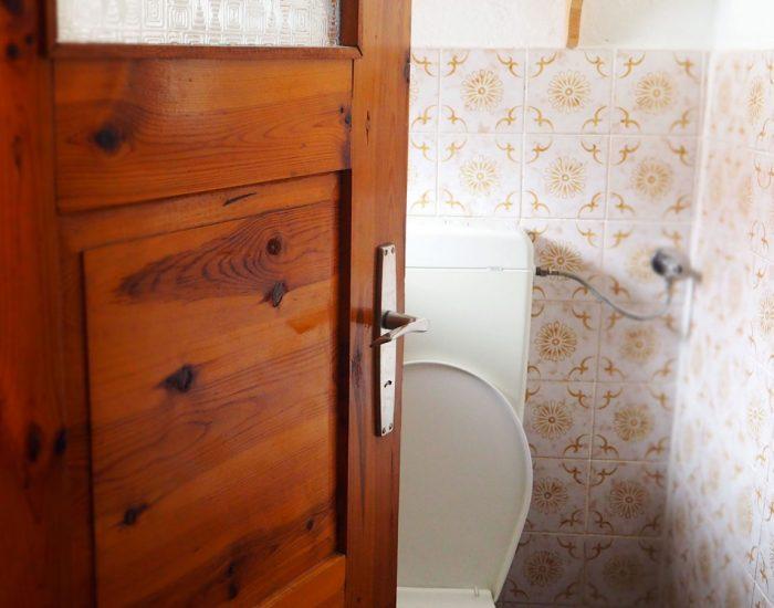 Toilette der Ferienwohnung Gutenbrunner