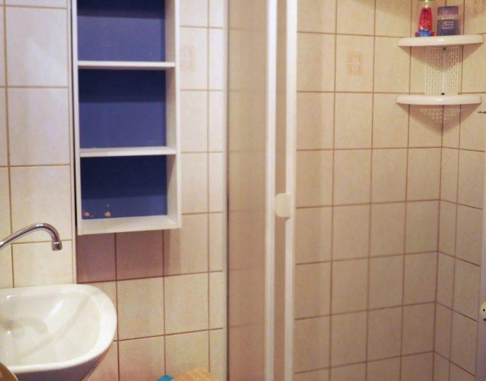 Badezimmer der Ferienwohnung Gutenbrunner
